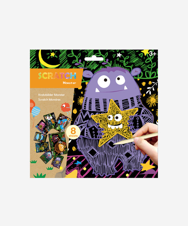 AVENIR - Scratch Cards Monsters - Junior