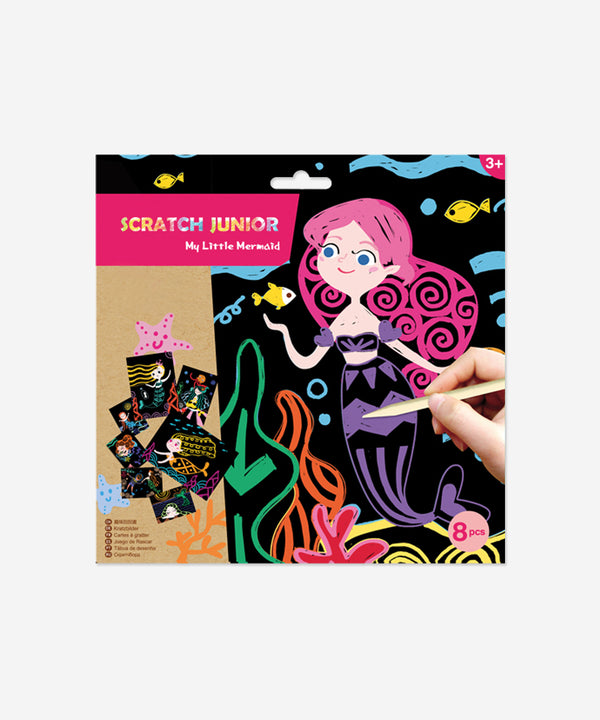 AVENIR - Scratch Cards Mermaids - Junior