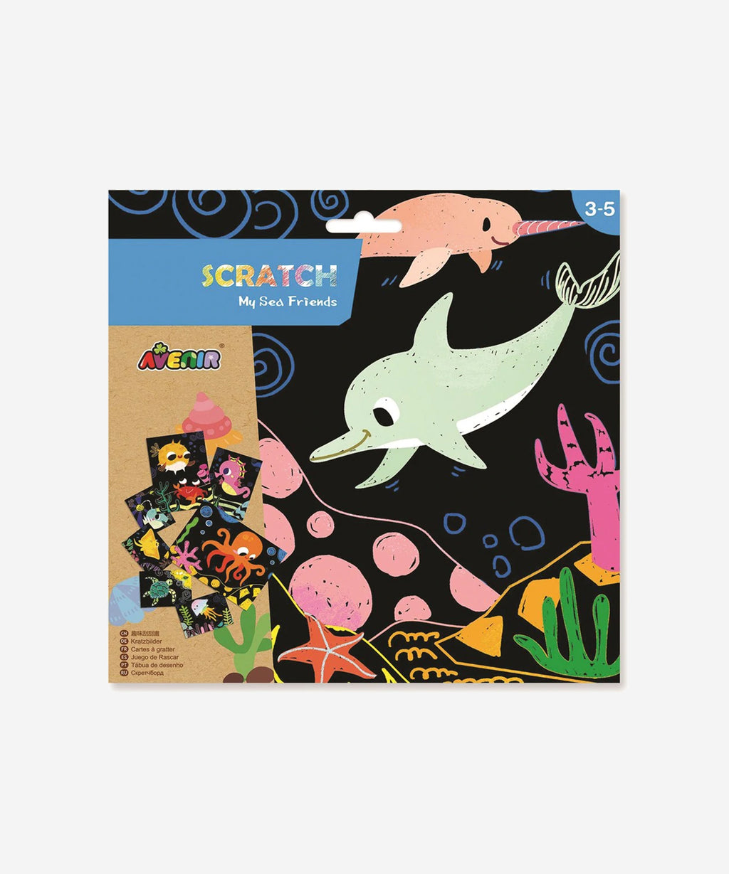 AVENIR - Scratch Cards Sea Friends - Junior