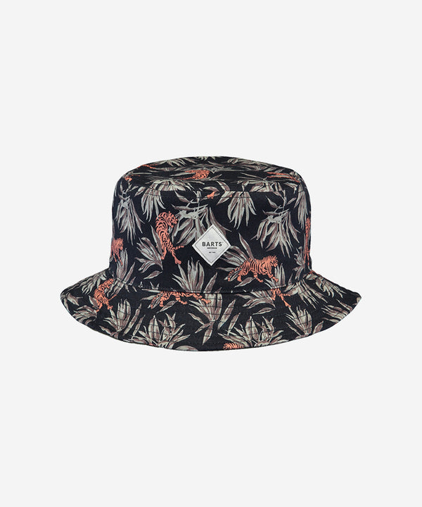 BARTS Antigua Reversible Hat AOP Tiger Black