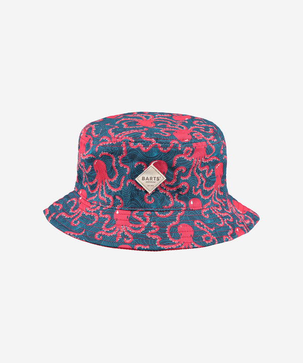BARTS Antigua Reversible Hat AOP Octopus Navy