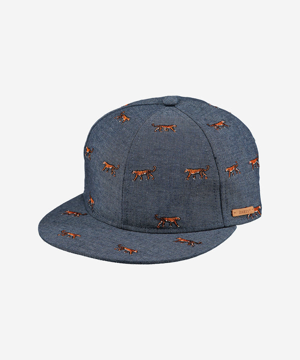 BARTS Pauk Cap Tiger Embroidery Denim