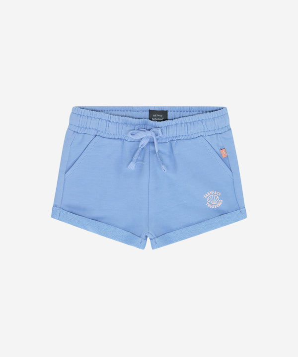 BABYFACE Baby Girls Soft Shorts Lavender Blue