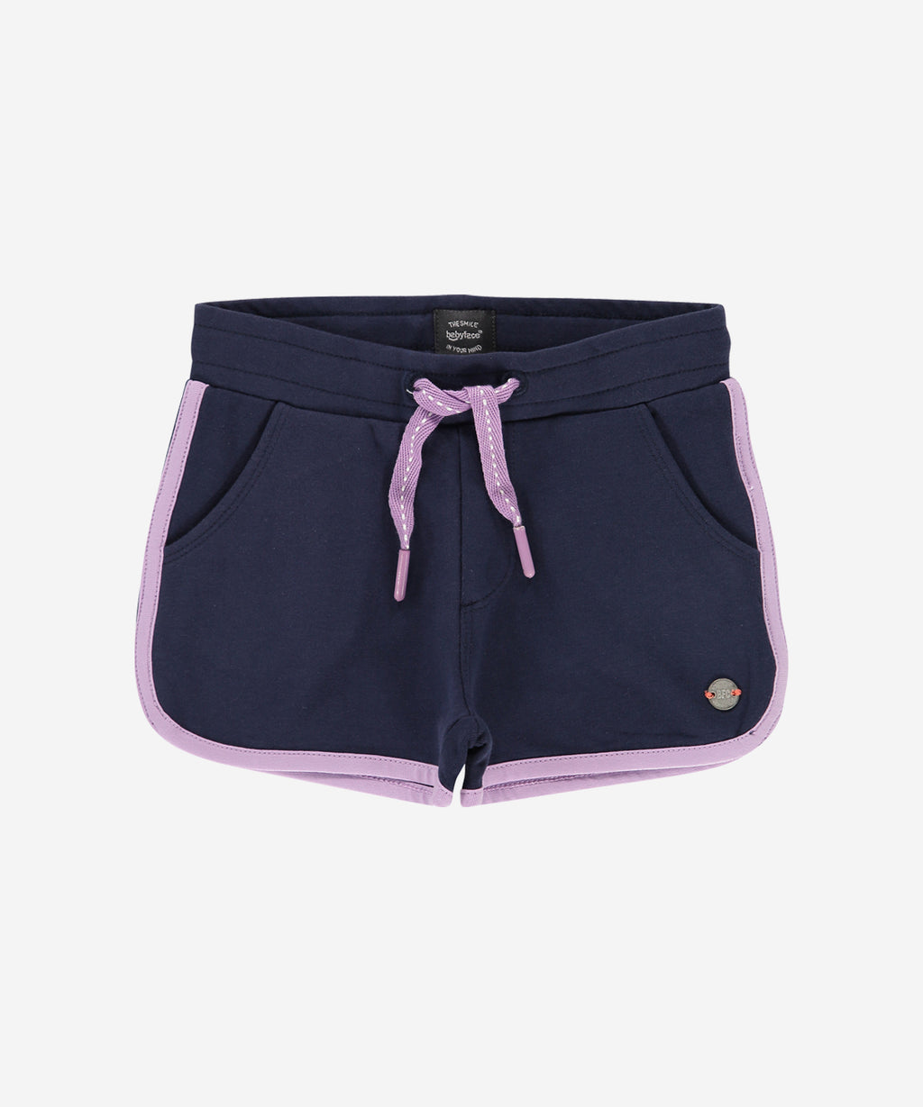 BABYFACE Kids Girls Soft Shorts w.Trim Marine