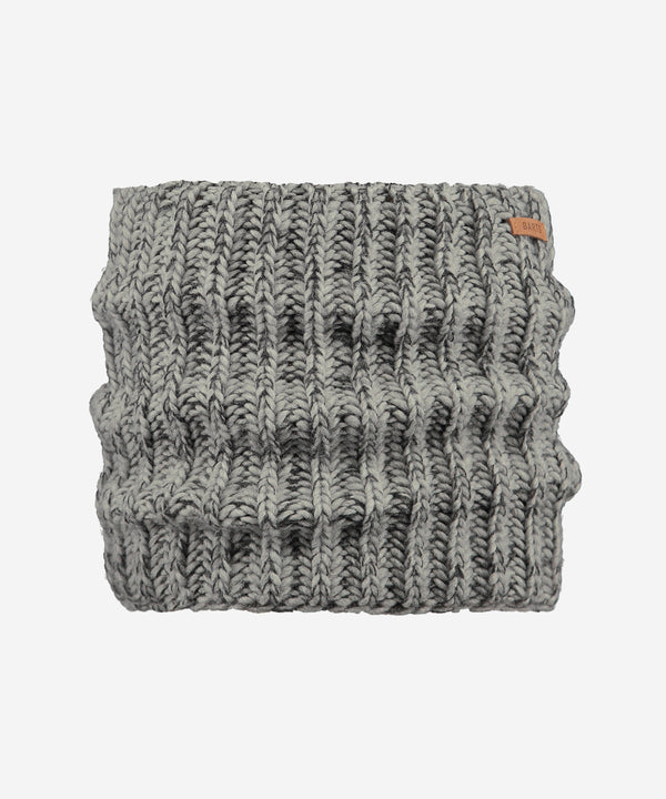 BARTS Carlosh Col Scarf Heather Grey Melee