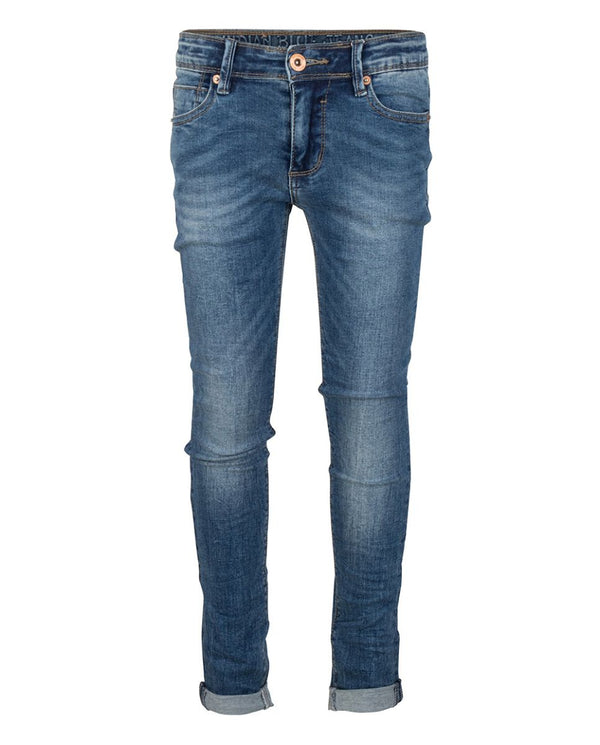 INDIAN BLUE JEANS BOYS BLUE BRAD JEANS UPER SKINNY FIT MEDIUM WASH