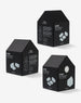 Cinqpoints Home 3D Puzzle Black