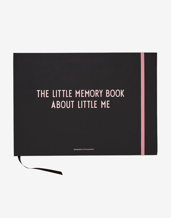 Design Letters - Little Memory Book - Pink