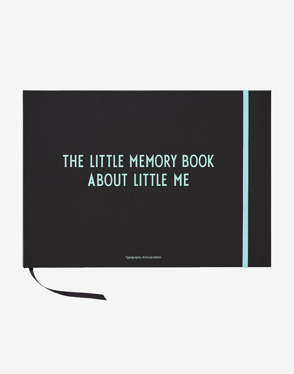 Design Letters - Little Memory Book - Turquoise
