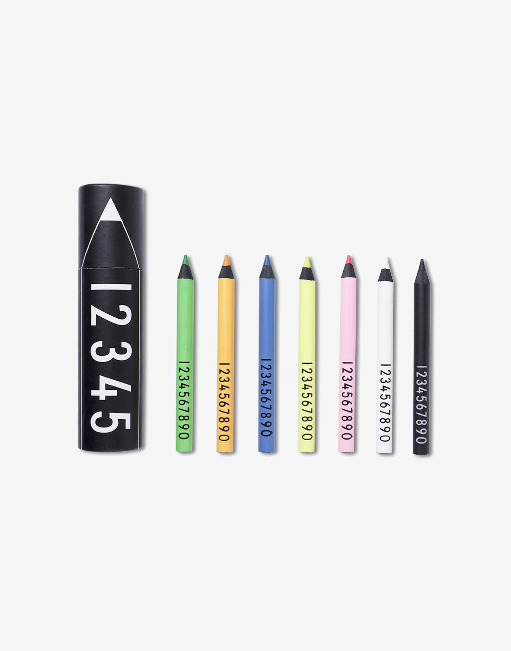 Design Letters Neon Crayons