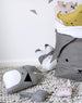 Fabelab - Animal Cushion - Grey Pirate Bunny - beetlesandbugs.com