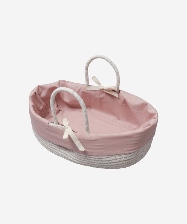Fabelab - Doll Basket w. Cover Mauve