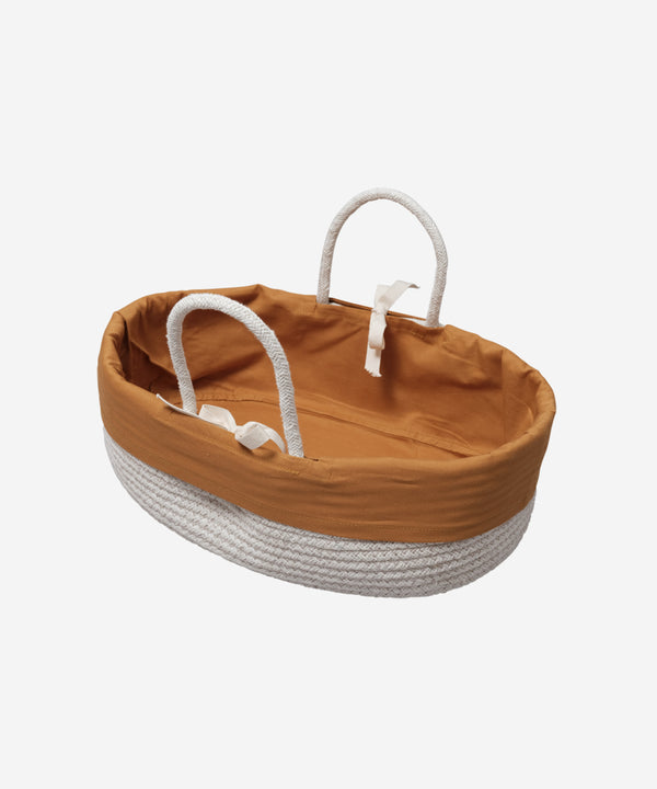 Fabelab - Doll Basket w. Cover - Ochre