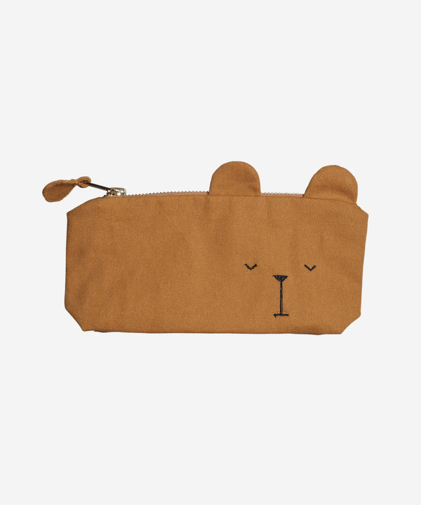 Fabelab - Pencil Case - Bear Ochre