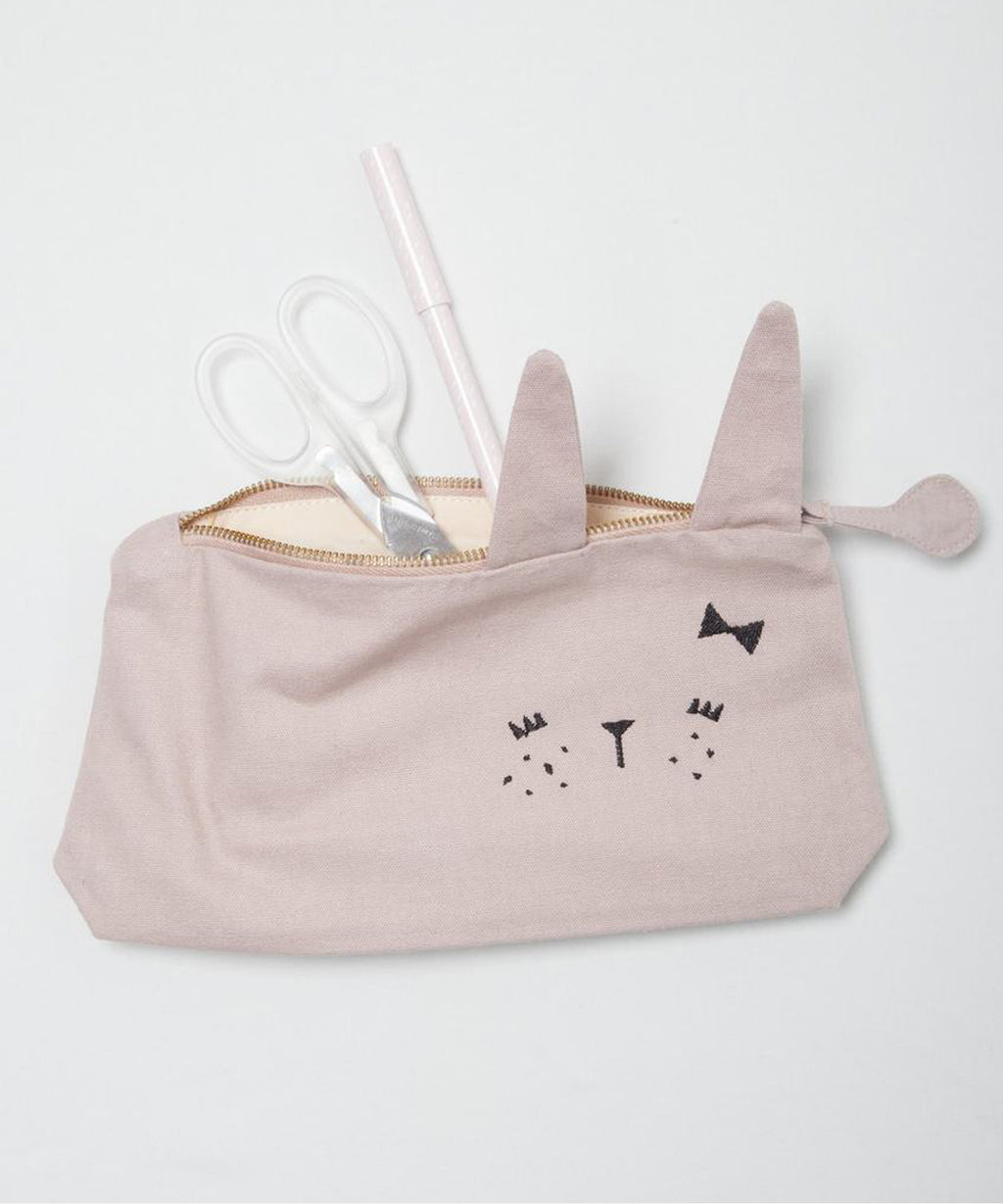 Fabelab - Pencil Case - Bunny Mauve
