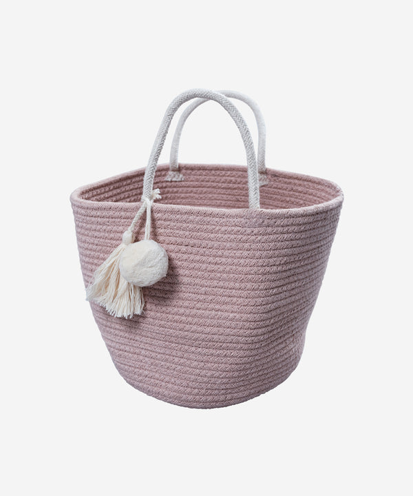 Fabelab - Rope Basket Small - Mauve