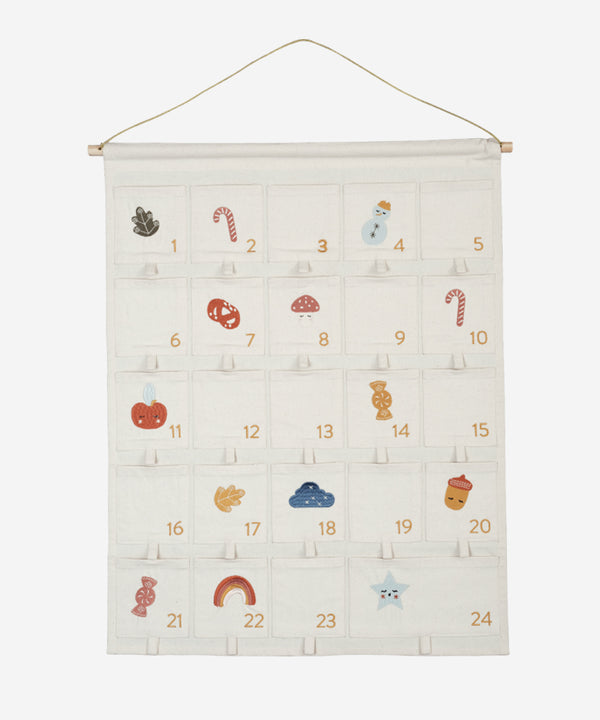 Fabelab - Embroidered Advent Wall Calendar