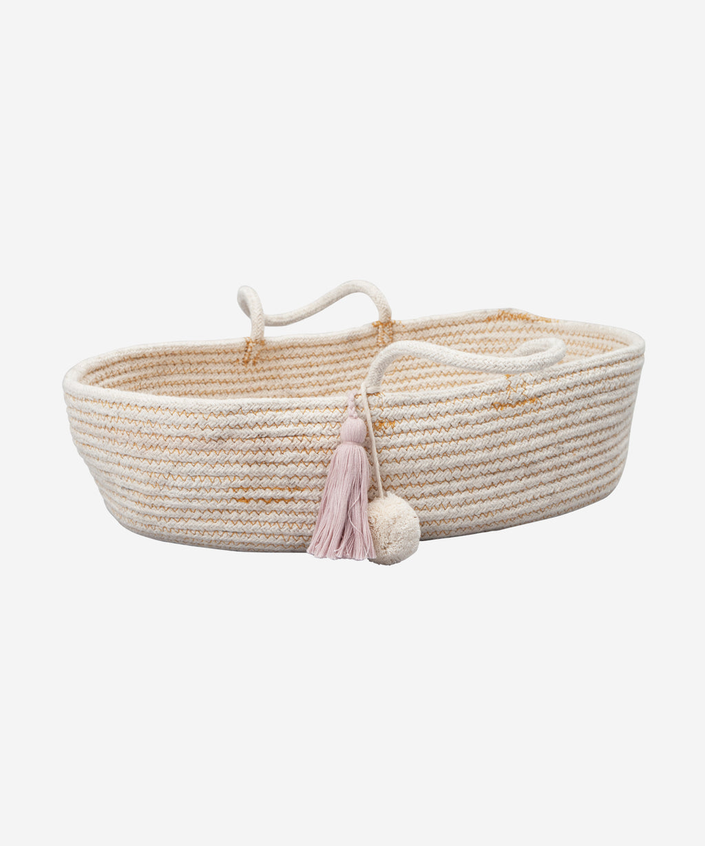 Fabelab - Rope Doll Basket Mauve