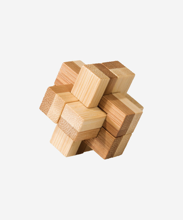 FRIDOLIN - Bamboo Patience Puzzle In Tin - Block
