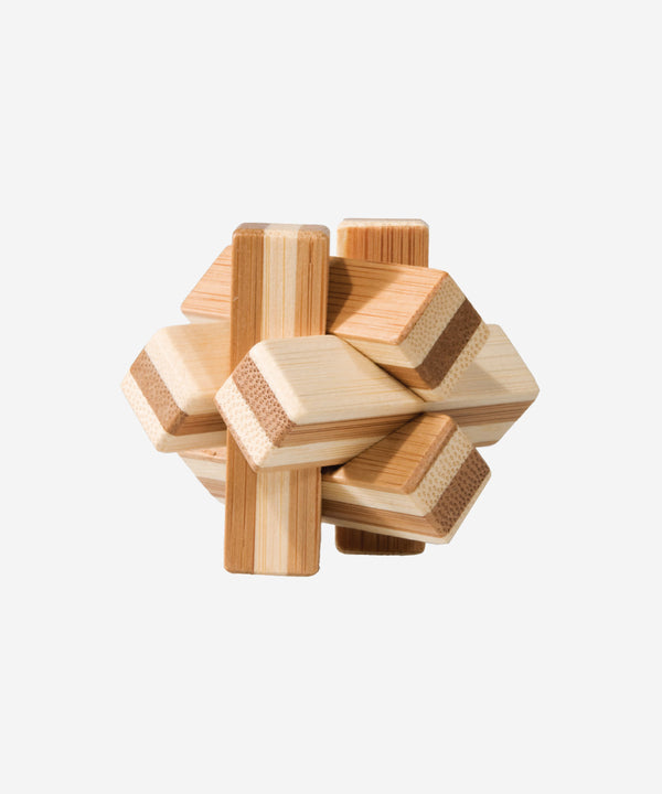 FRIDOLIN - Bamboo Patience Puzzle In Tin - Knot