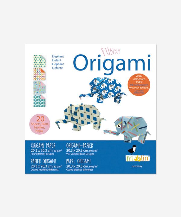 Funny Origami - Elephants Big