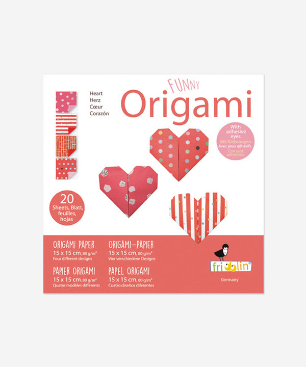 Funny Origami - Hearts Small