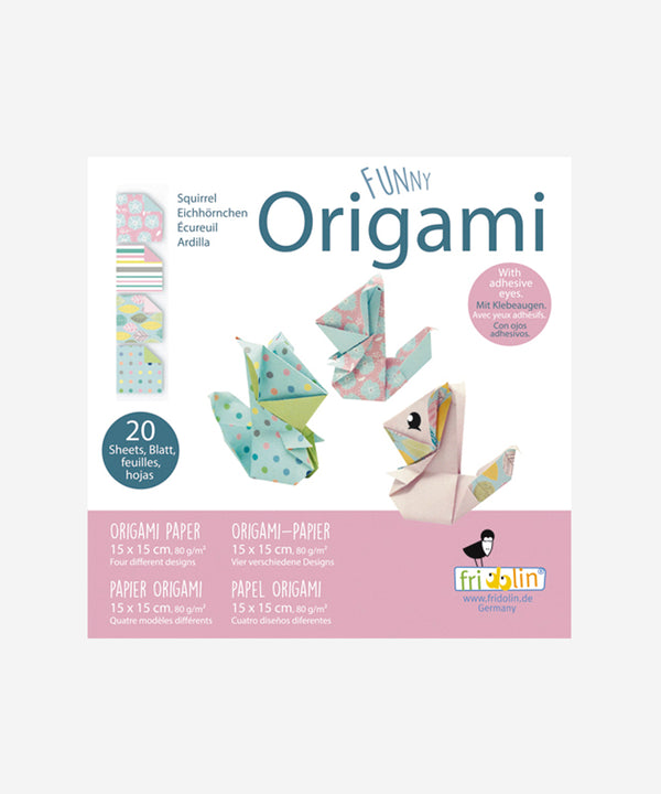 Kids Origami - Squirrels Small