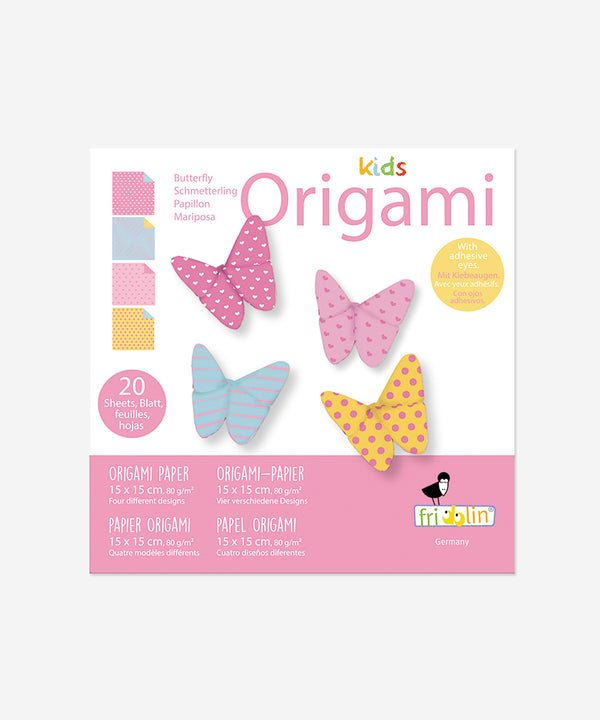 Kids Origami - Butterflies Small