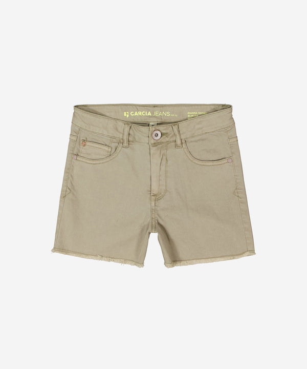 GARCIA Girls - Denim Shorts Pale Army Green