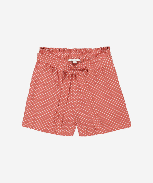 GARCIA Girls - Loose Shorts AOP Beach Brick