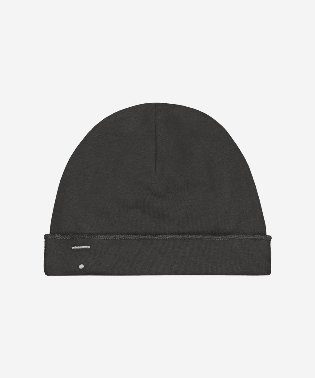 GRAY LABEL Organic Baby Beanie Miniature - Nearly Black