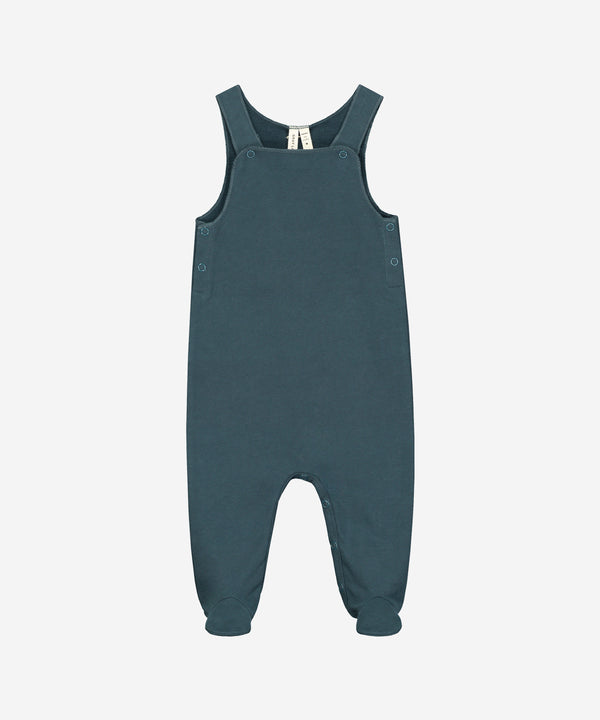 GRAY LABEL Organic Baby Sleeveless Suit Miniature - Blue Grey