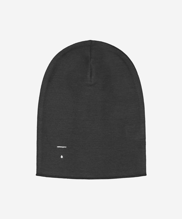 GRAY LABEL Organic Beanie - Nearly Black