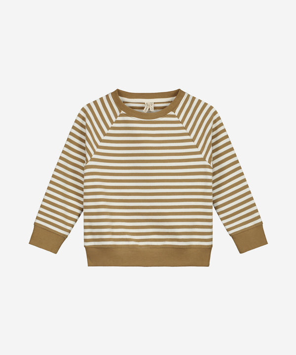 GRAY LABEL Organic Crewneck Sweater Peanut/Off White