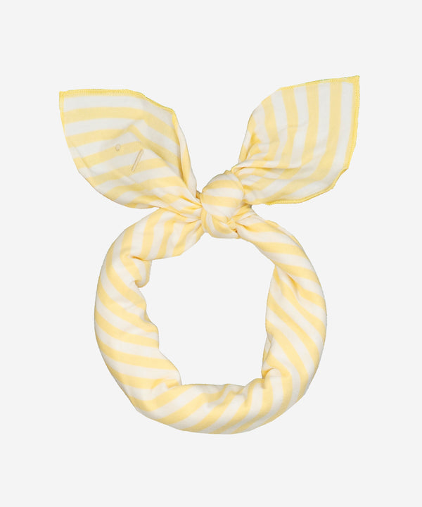 GRAY LABEL Head/Neck Scarf Mellow Yellow Stripe