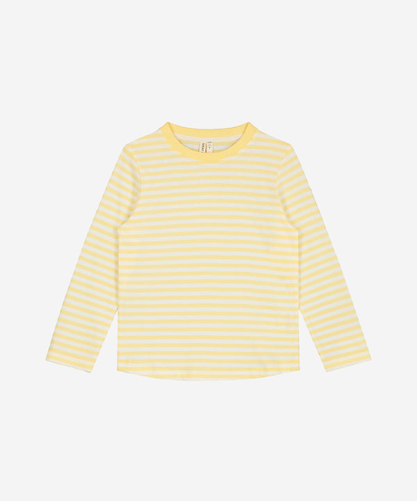 GRAY LABEL LS Tee Mellow Yellow Stripe