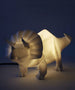 House of Disaster - Led Lamp - Triceratops White