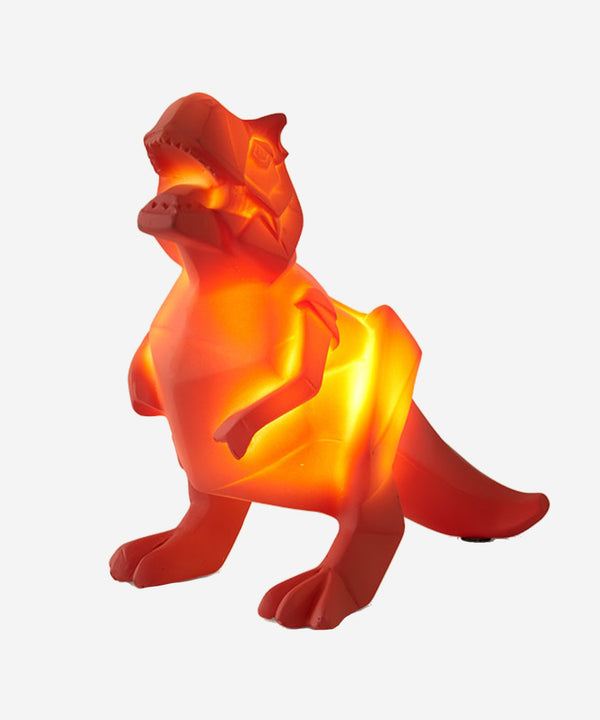 House of Disaster - Mini Led Lamp - Dinosaurs Orange