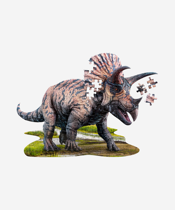 I AM - Triceratops Puzzle - 100pcs Poster Size