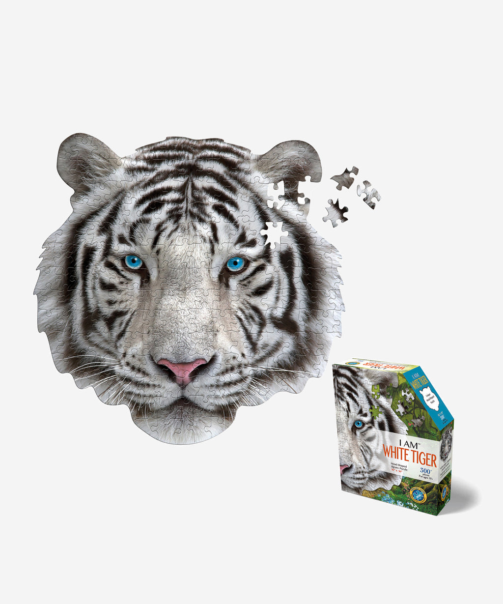 I AM - White Tiger Puzzle