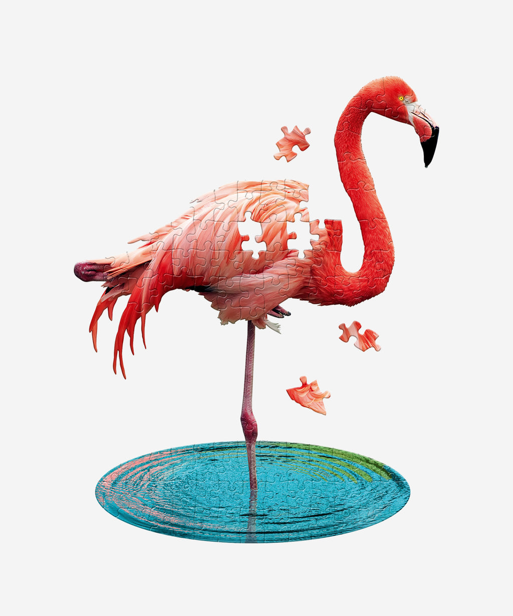 I AM LIL' - Flamingo Puzzle