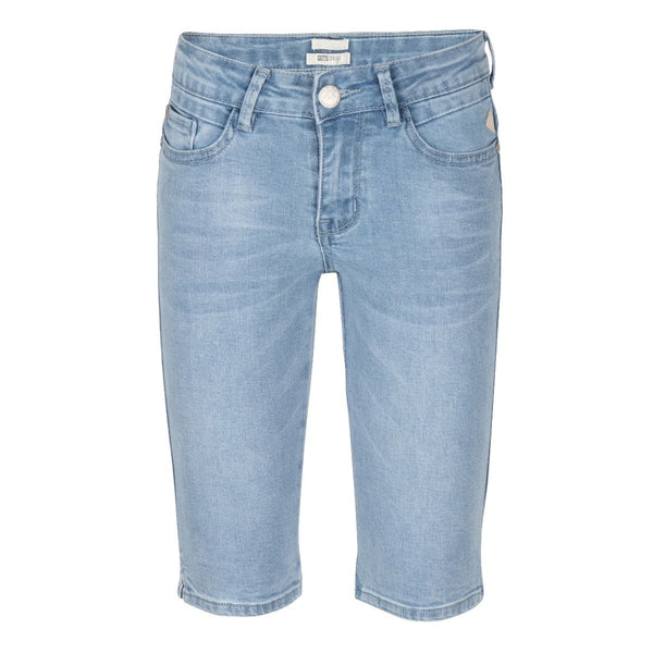 INDIAN BLUE JEANS GIRLS DENIM BERMUDA SHORTS LIGHT WASH