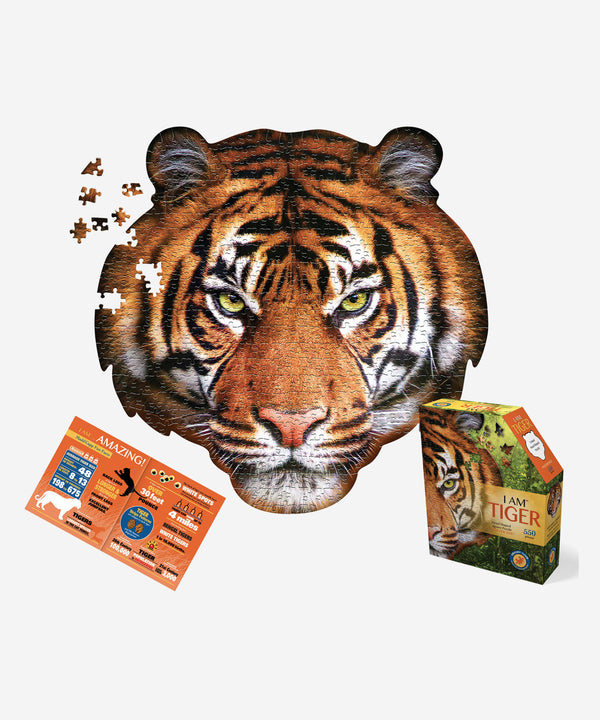 I AM - Tiger Puzzle - 550pcs Poster Size