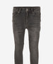 INDIAN BLUE JEANS Boys - Brad Super Skinny Fit Denim Jeans 159 Dark Grey Wash