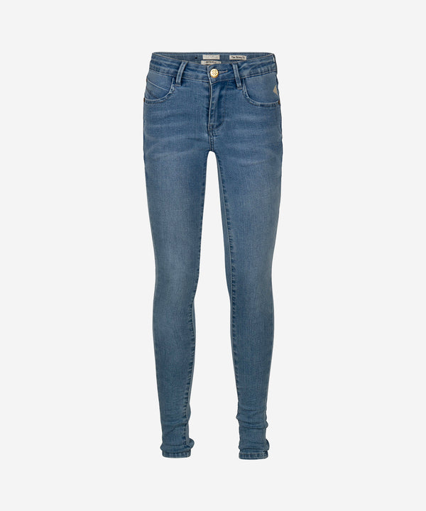 INDIAN BLUE JEANS Girls - Jill Flex Skinny Fit 151 Medium Blue
