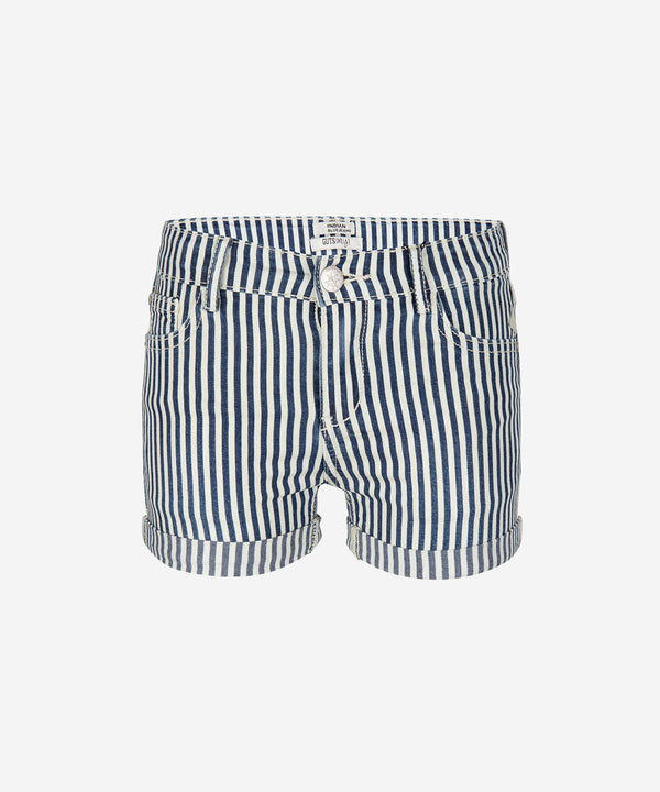INDIAN BLUE JEANS Girls - Denim Shorts Striped