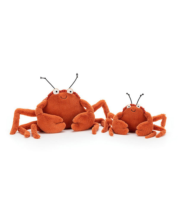 Jelly Cat - Crispin Crab Small