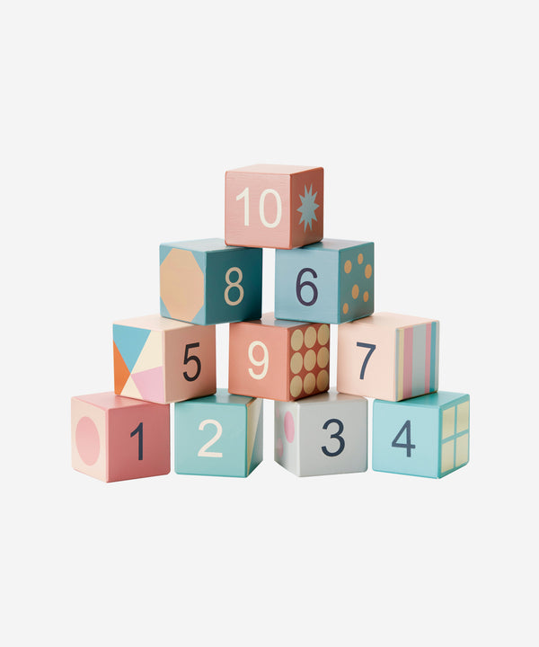 Kid's Concept - 10 Wooden Blocks
