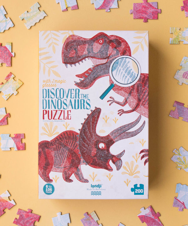 LONDJI - Discover The Dinosaurs Puzzle