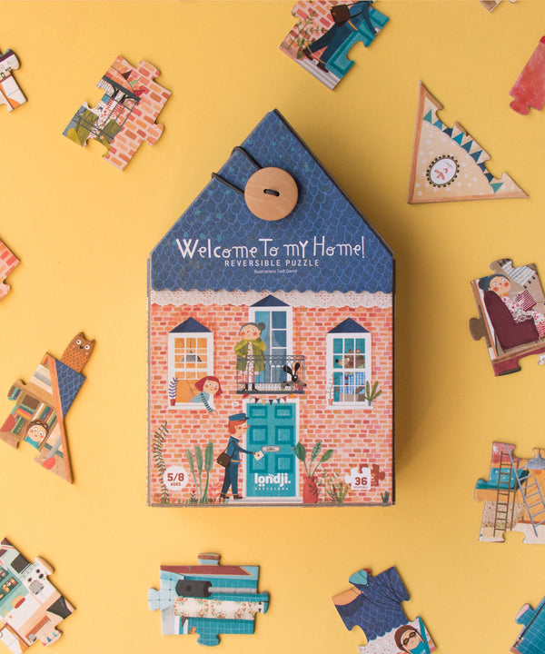 LONDJI - Welcome To My Home! Reversible Puzzle